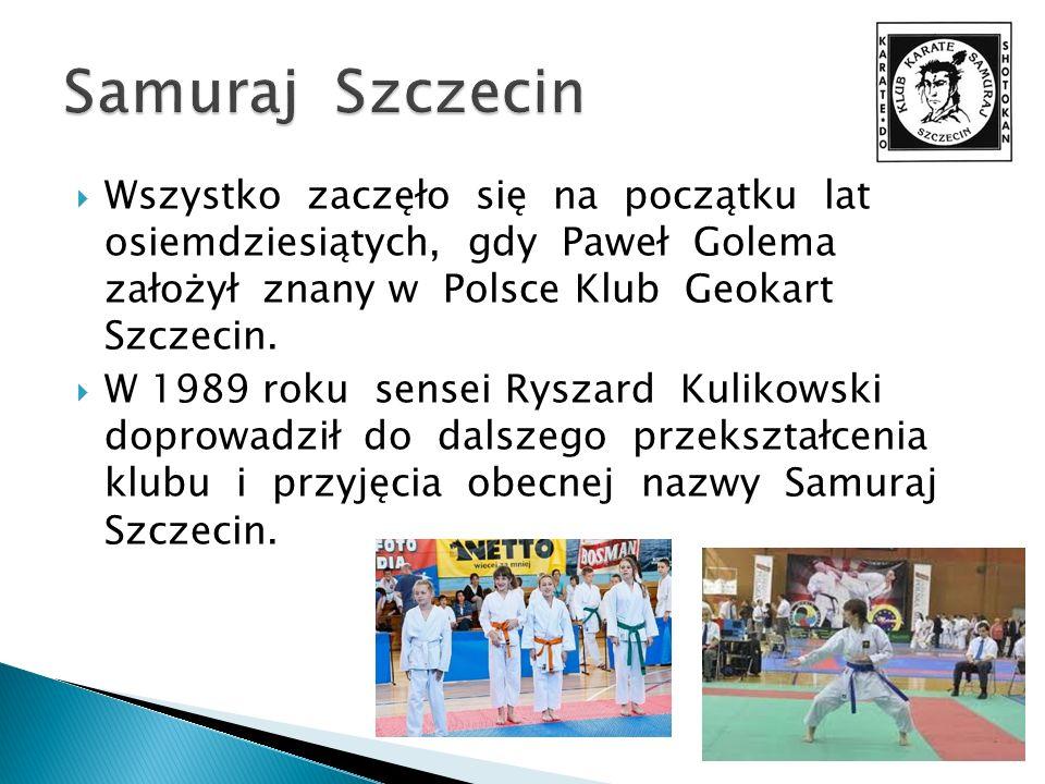 Wszystko zaczęło się na początku lat osiemdziesiątych, gdy Paweł Golema założył znany w Polsce Klub Geokart Szczecin. W 1989 roku sensei Ryszard Kulik