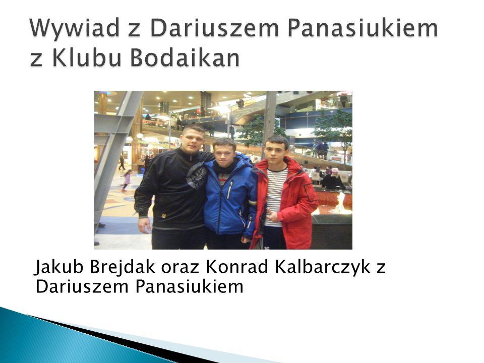 Jakub Brejdak oraz Konrad Kalbarczyk z Dariuszem Panasiukiem