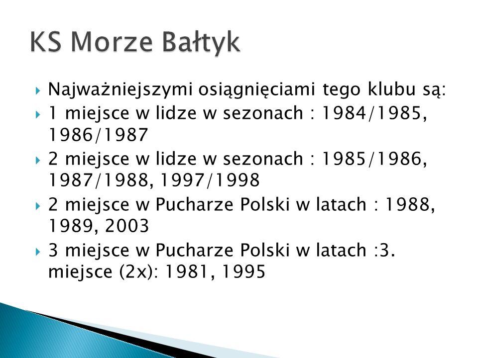 Najważniejszymi osiągnięciami tego klubu są: 1 miejsce w lidze w sezonach : 1984/1985, 1986/1987 2 miejsce w lidze w sezonach : 1985/1986, 1987/1988,