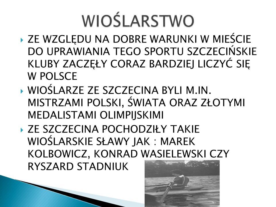 Pierwsza sekcja kolarska LZS w Szczecinie została utworzona w 1952 roku poprzez starania Andrzeja Wituszyńskiego, do której należeli wszyscy zawodnicy wywodzący się ze środowiska wiejskiego całego województwa.