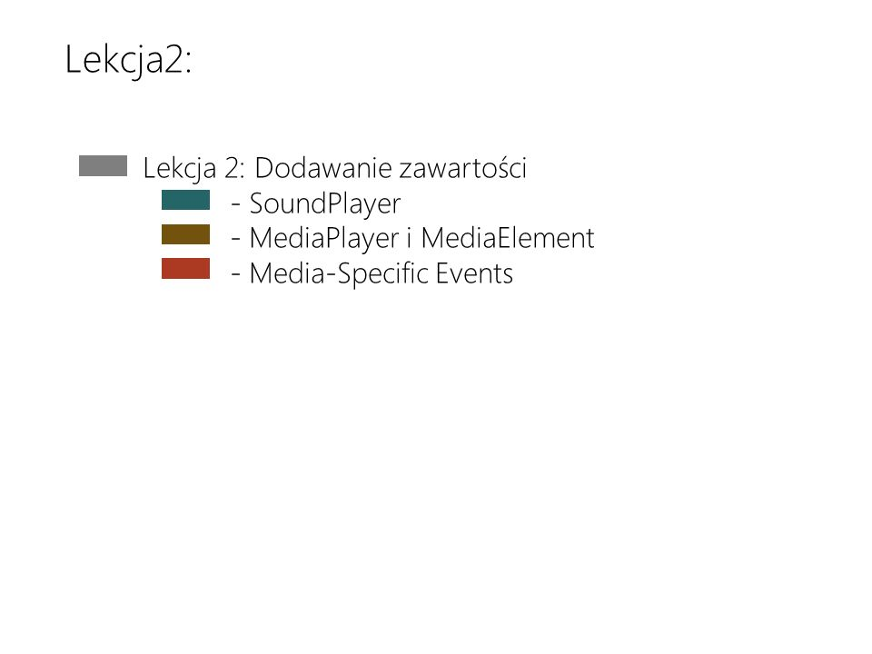 Download the latest version at http://toolbox/Win8ppthttp://toolbox/Win8ppt This message wont show up when youre presenting Lekcja 2: Dodawanie zawart