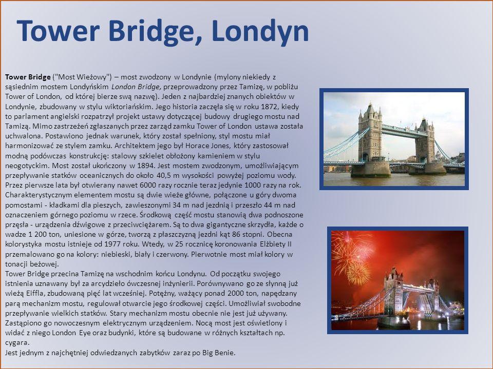 Tower Bridge, Londyn Tower Bridge (