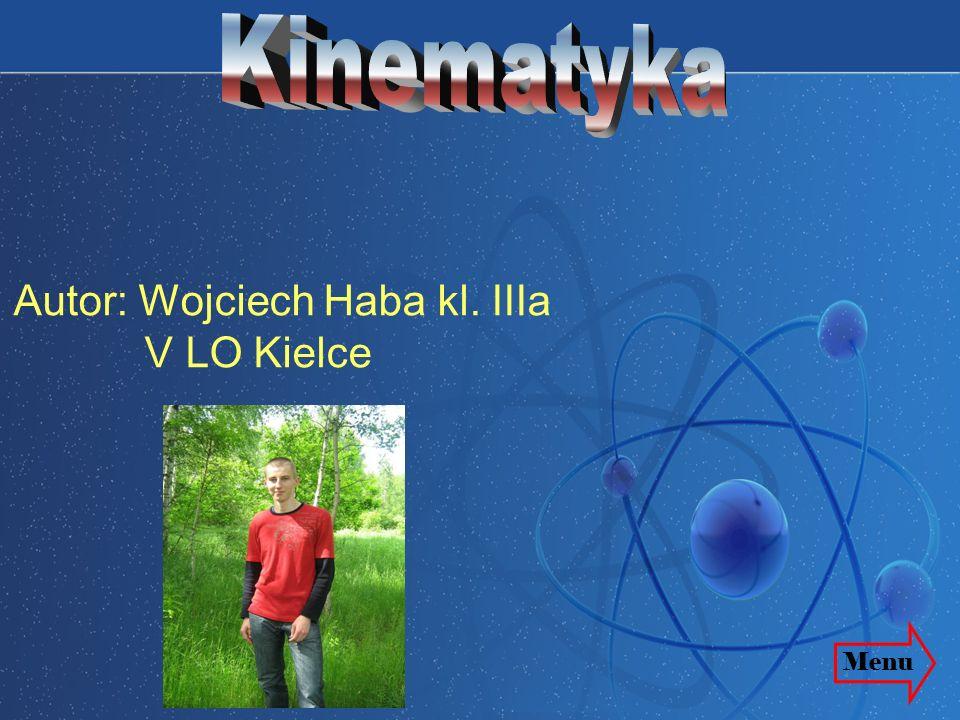 Autor: Wojciech Haba kl. IIIa V LO Kielce Menu