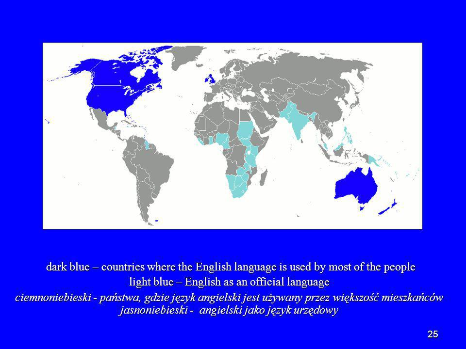 26 PART4 Statistics Statystyka English is spoken as a first language by around 375 million people in the world.