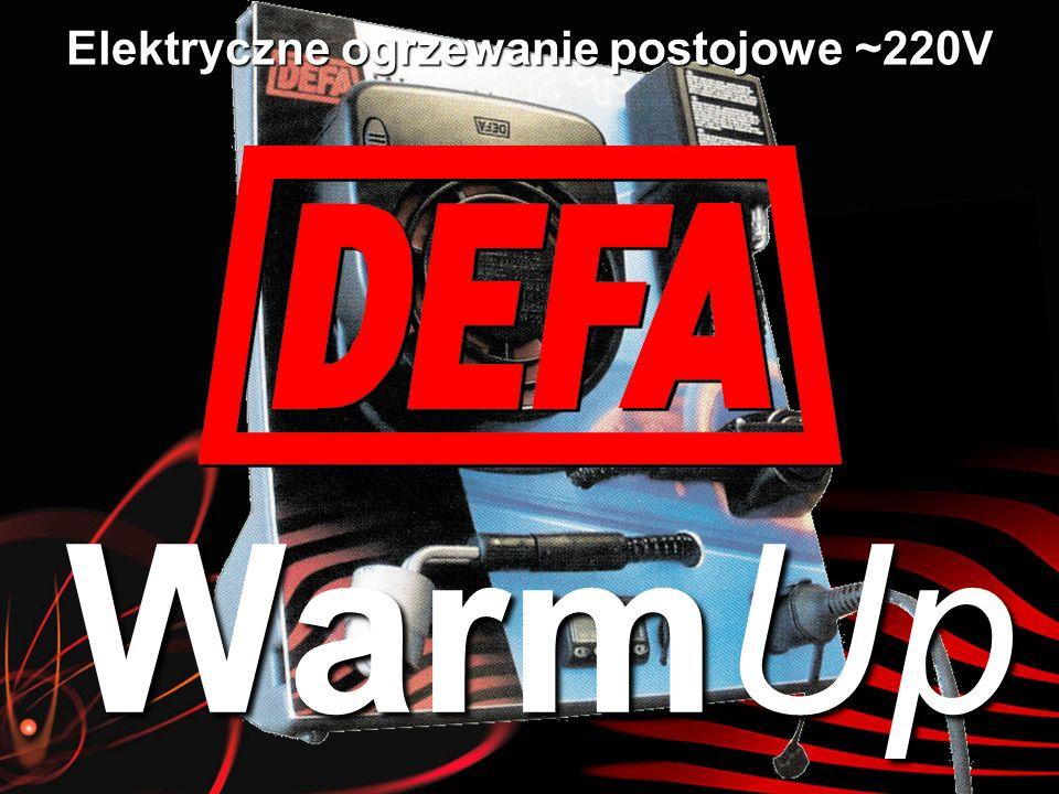 Co to jest DEFA WarmUp jest elektrycznym samochodowym ogrzewaniem postojowym zasilanym z sieci prądu zmiennego 230V.