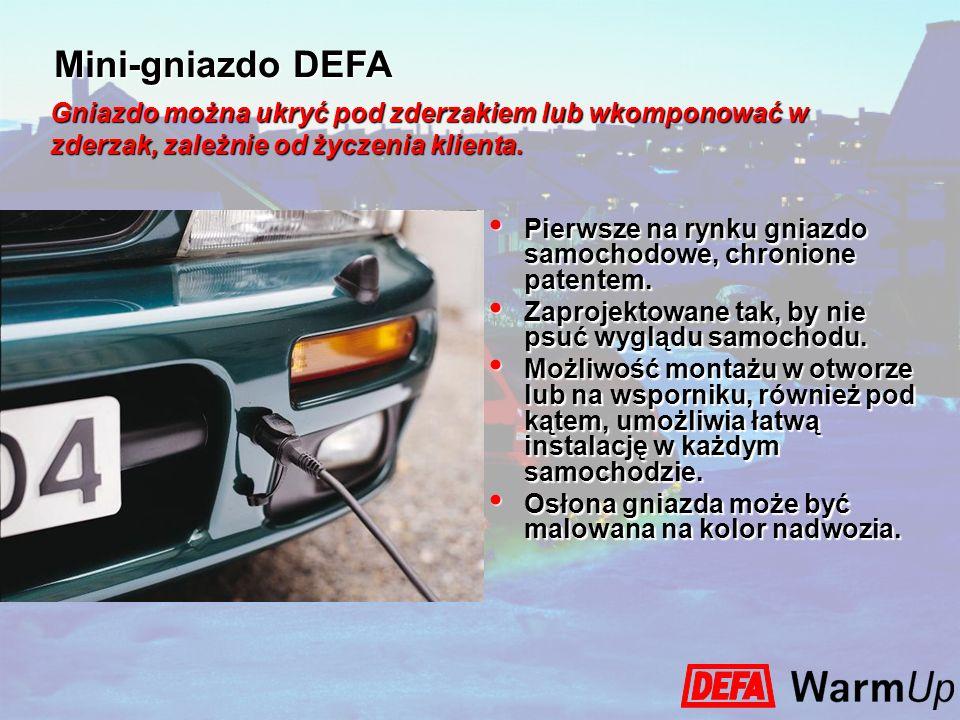Pierwsze na rynku gniazdo samochodowe, chronione patentem. Pierwsze na rynku gniazdo samochodowe, chronione patentem. Zaprojektowane tak, by nie psuć