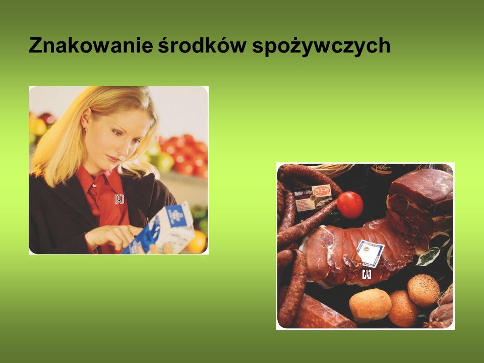 Znakowanie środków spożywczych