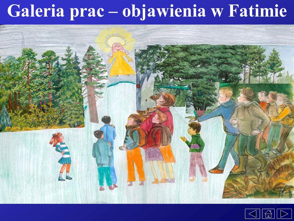 Galeria prac – objawienia w Fatimie