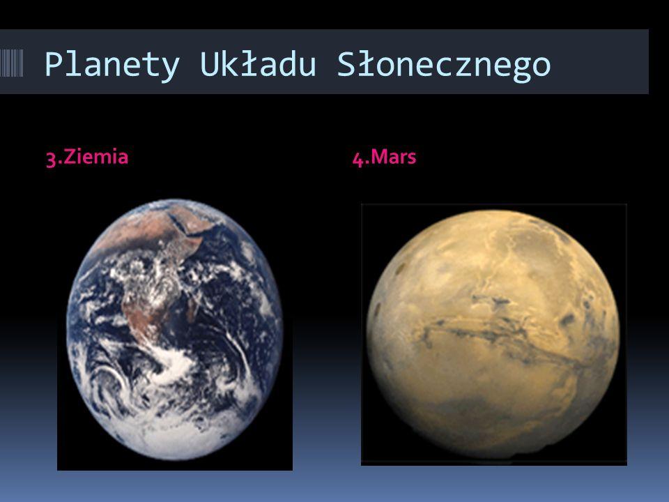 Planety Układu Słonecznego 1.Merkury2.Wenus