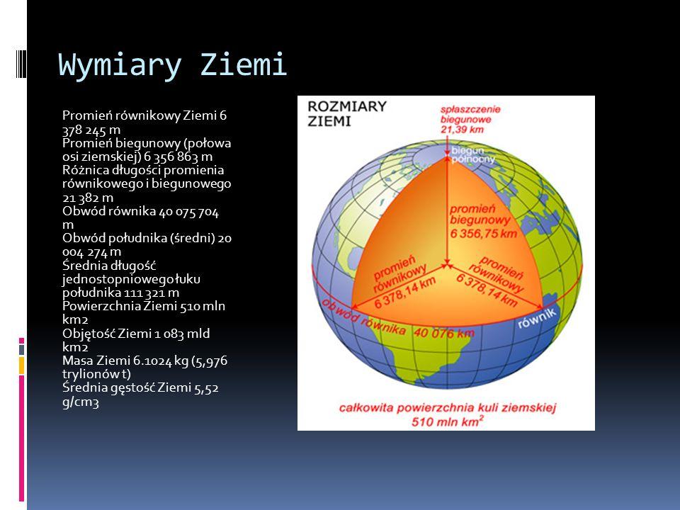 Ziemia Ziemia jest trzecią planetą Układu Słonecznego. Posiada jednego naturalnego satelitę - Księżyc. Jako jedyna planeta naszego układu ma warunki d