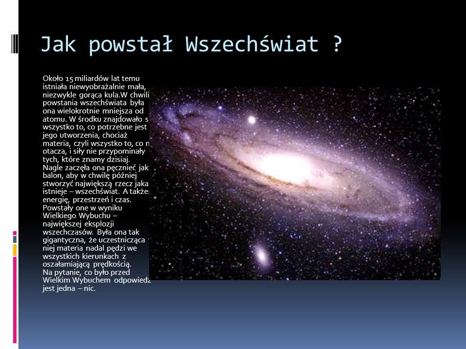 Jak powstał Wszechświat .
