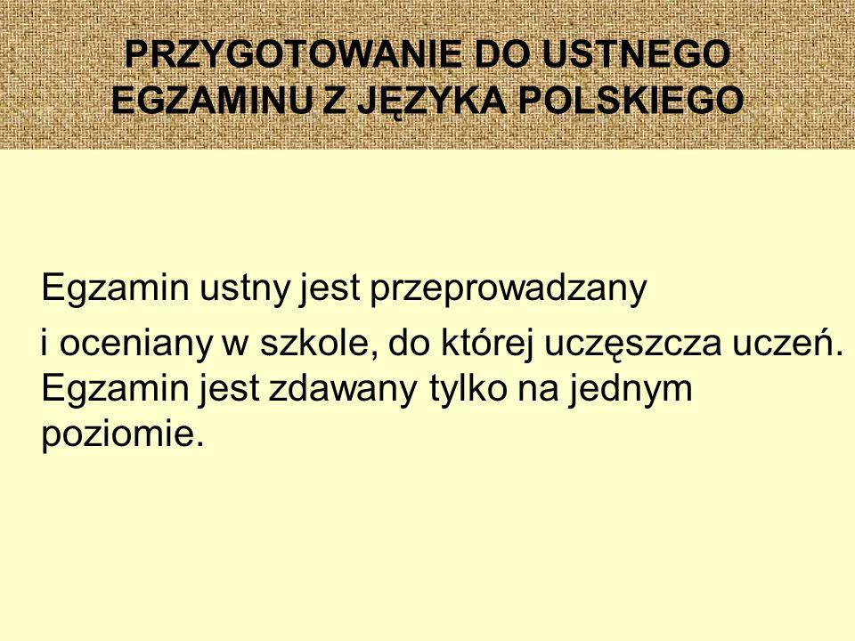 PRZYGOTOWANIE DO USTNEGO EGZAMINU Z JĘZYKA POLSKIEGO Zapożyczenia w języku młodzieży.