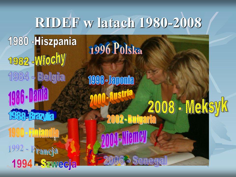 RIDEF w latach 1980-2008