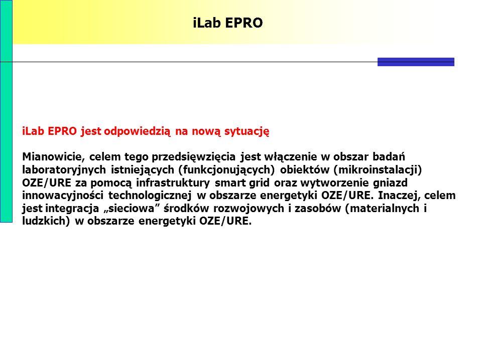 iLab EPRO iLab EPRO jest odpowiedzią na nową sytuację Mianowicie, celem tego przedsięwzięcia jest włączenie w obszar badań laboratoryjnych istniejącyc