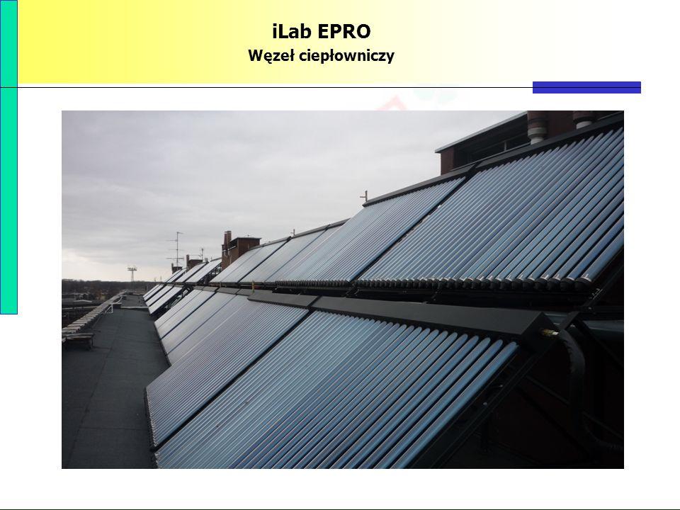 PBS Zintegrowany system zmniejszenia eksploatacyjnej energochłonności budynków 77 iLab EPRO Węzeł ciepłowniczy