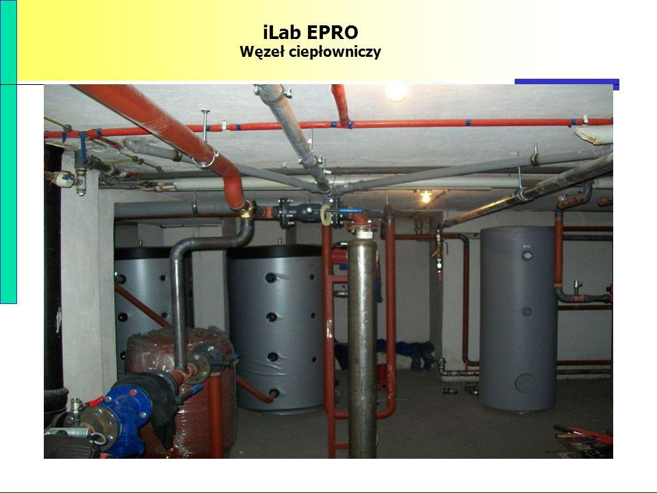 PBS Zintegrowany system zmniejszenia eksploatacyjnej energochłonności budynków 78 iLab EPRO Węzeł ciepłowniczy