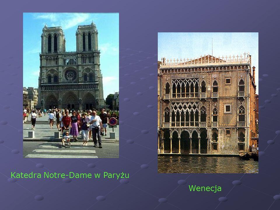 Katedra Notre-Dame w Paryżu Wenecja