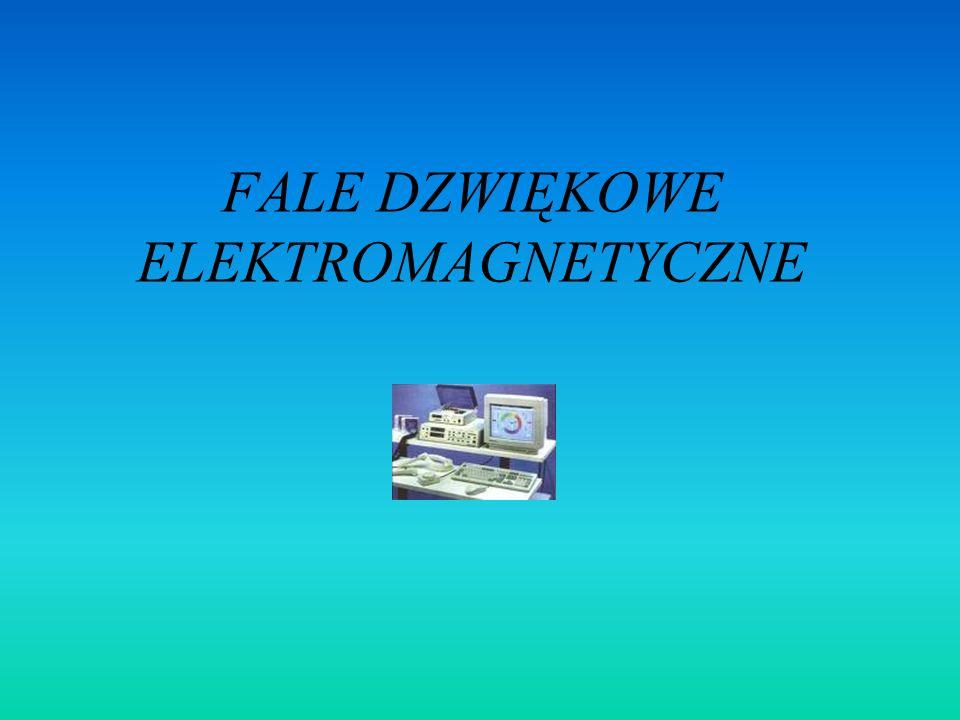 FALE DZWIĘKOWE ELEKTROMAGNETYCZNE