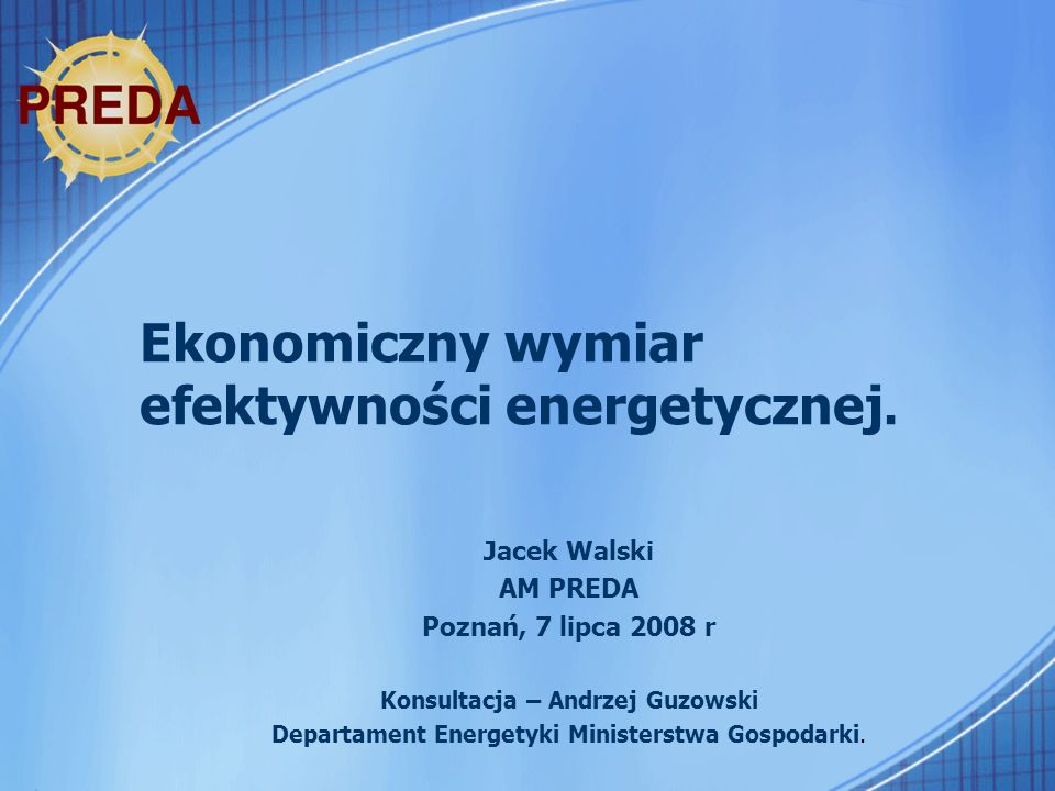 42 Audyt energetyczny Przetarg – jako forma wyboru sprzedawcy energii.