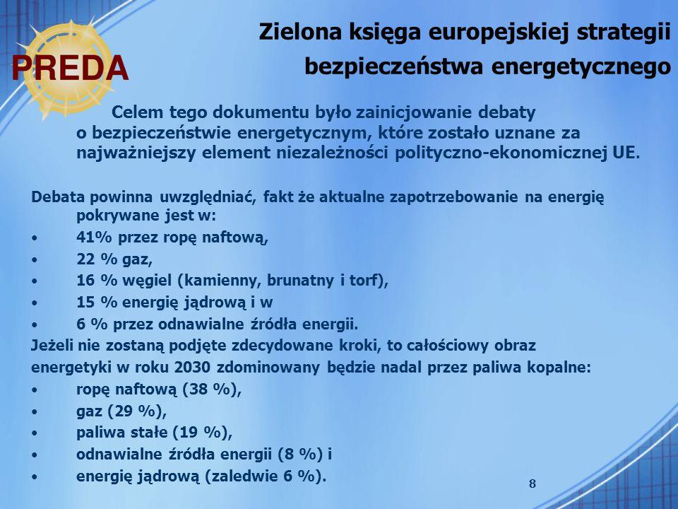 9 Krajowy Plan Działań dotyczący efektywności energetycznej (EEAP).