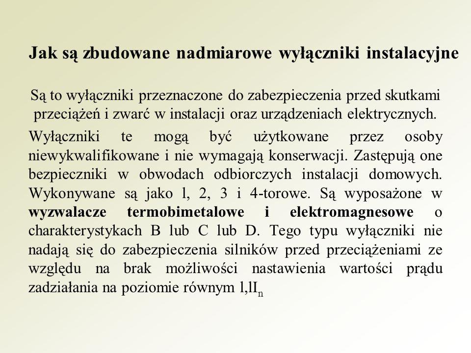 A - człon pomiarowy; B - człon wzmacniający; C - człon wyłączający; D - człon kontrolny; R - rezystor kontrolny, T - przycisk testujący; l - rdzeń przekładnika Ferrantiego, 2 - uzwojenie wtórne przekładnika Ferrantiego, 3 - zamek.