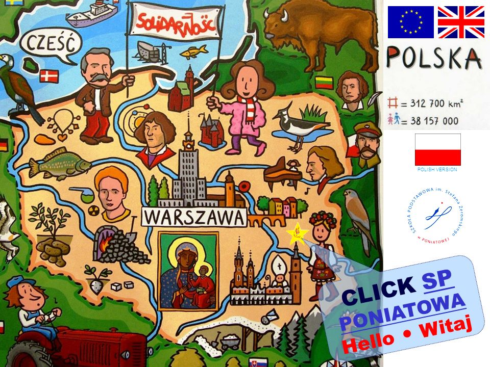CLICK SP PONIATOWASP PONIATOWA Hello Witaj POLISH VERSION