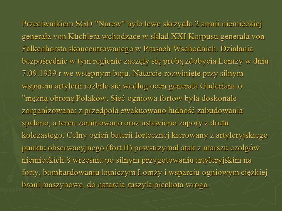 Przeciwnikiem SGO