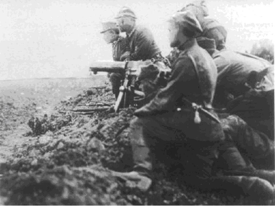 Uporczywe ataki bolszewików na linię fortów miały miejsce w okresie 29- 31 lipca.