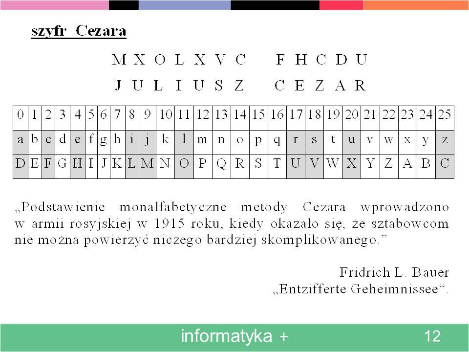 informatyka + 12