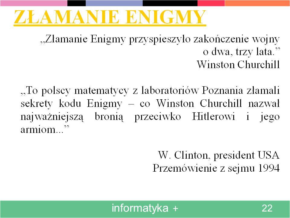 informatyka + 22