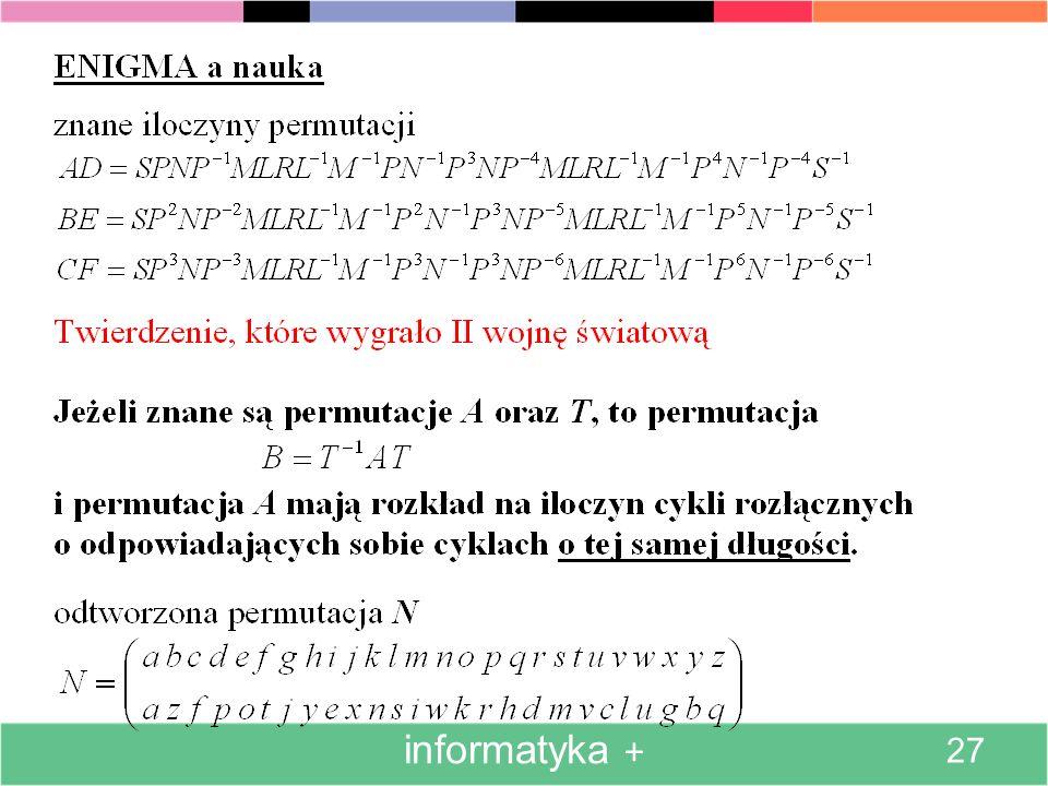 informatyka + 27
