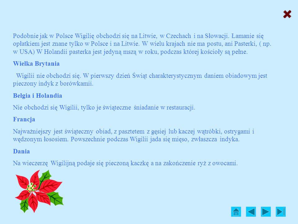 Obchody na świecie Nie tylko Polska może pochwalić się bogatą tradycją świętowania Bożego Narodzenia. Wszędzie, gdzie żyją chrześcijanie radość z przy