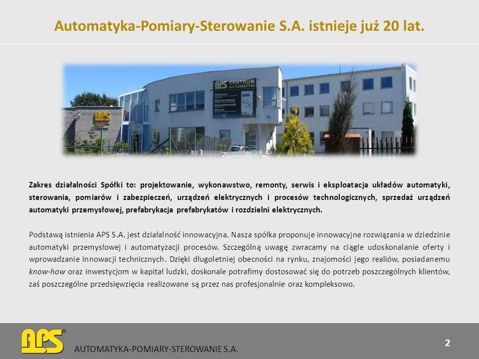 Ważne daty 1993 – data formalnych narodzin Spółki 1995 – powstanie biura projektowego i handlowego 1997 – przyznanie certyfikatu ISO 9001 2003 – Nowa siedziba przy ul.