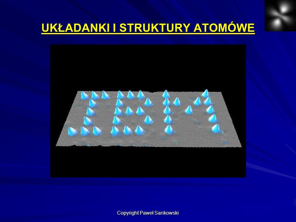 UKŁADANKI I STRUKTURY ATOMÓWE Copyright Paweł Sankowski