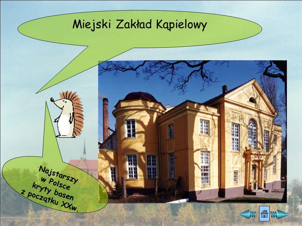A to ulica Narutowicza i domy tkackie z XIXw. Domy mają wejścia umieszczone we wnękach, a nad nimi znajduje się facjatka.facjatka