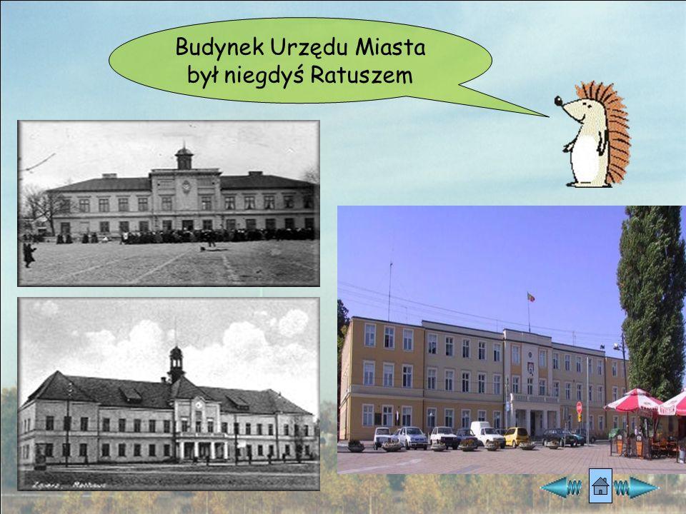 Budynek Urzędu Miasta był niegdyś Ratuszem