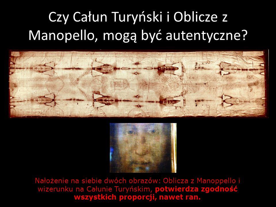 Czy Całun Turyński i Oblicze z Manopello, mogą być autentyczne? Nałożenie na siebie dwóch obrazów: Oblicza z Manoppello i wizerunku na Całunie Turyńsk