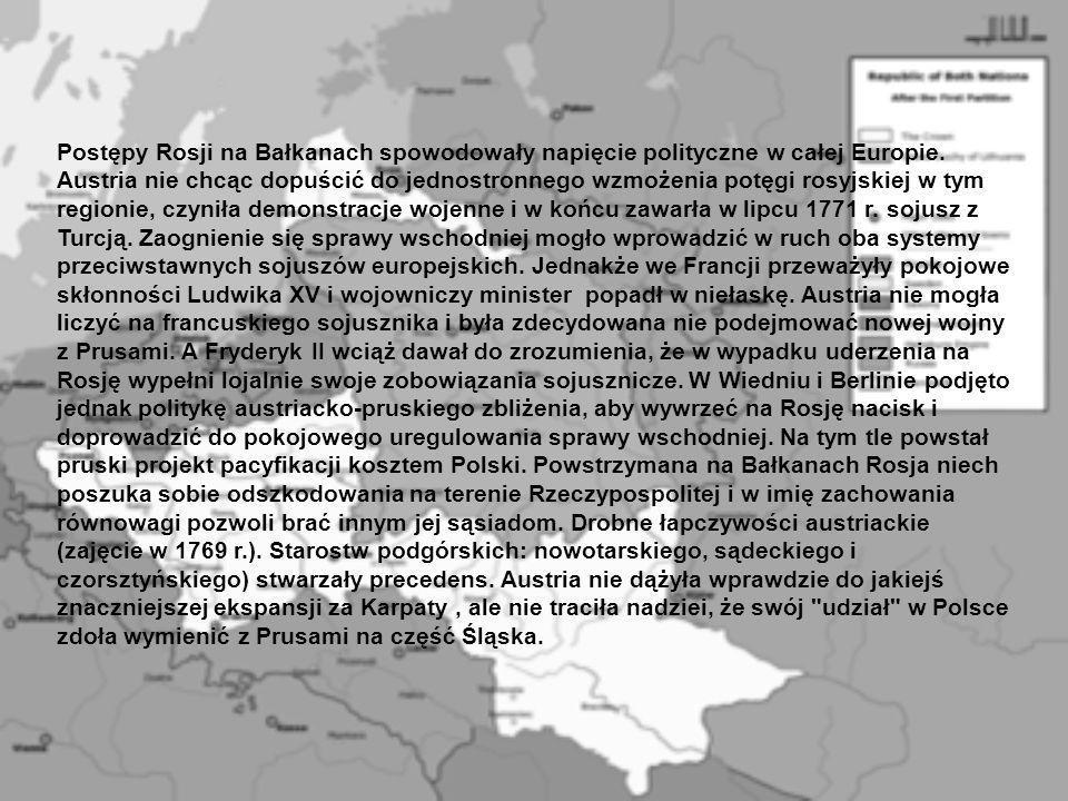 Postępy Rosji na Bałkanach spowodowały napięcie polityczne w całej Europie. Austria nie chcąc dopuścić do jednostronnego wzmożenia potęgi rosyjskiej w