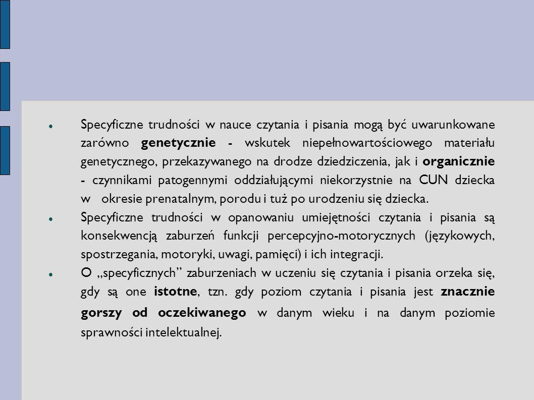 Ogólne zasady postępowania z uczniem z dysleksją rozwojową Wskazane jest preferowanie wypowiedzi ustnych.