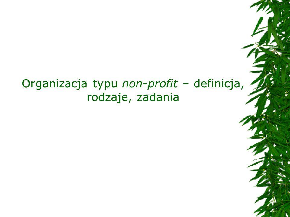 Organizacja typu non-profit – definicja, rodzaje, zadania