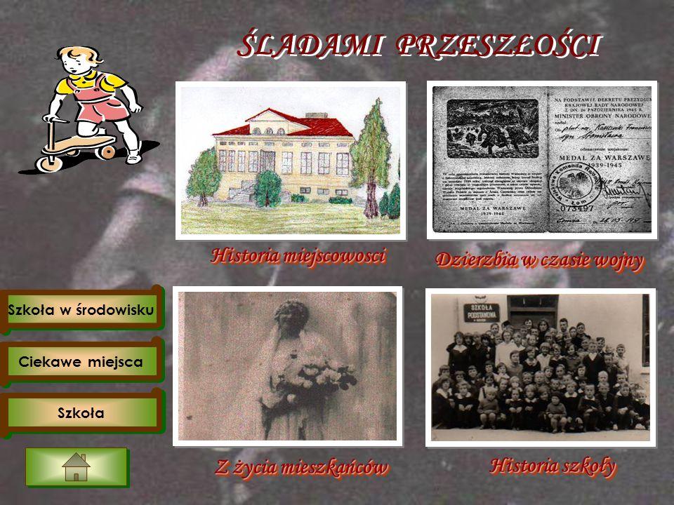 Goście w szkole Szkoła Filialna w Dzierzbi gościła wielu ciekawych ludzi.
