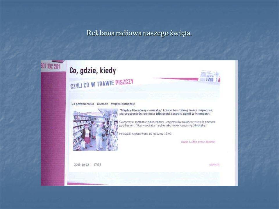 Publikacja okolicznościowego folderu to jedno z wielu świątecznych przedsięwzięć, które realizowano przez cały rok szkolny.