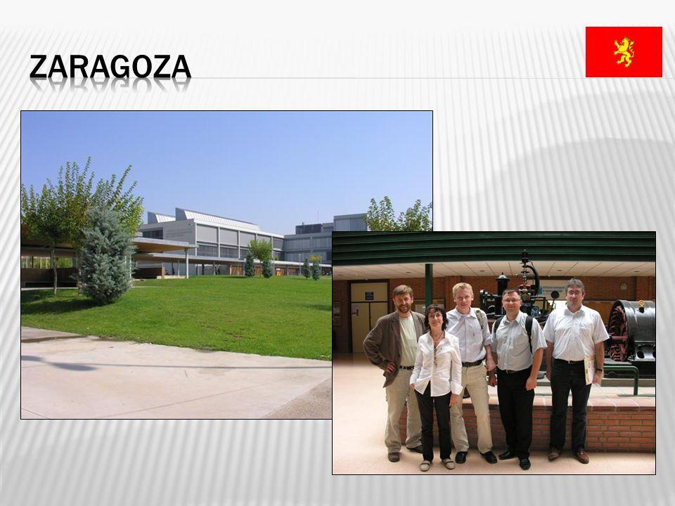 Uniwersytet w Saragossie Uniwersytet w liczbach ilość wydziałów / szkół / kolegiów: 22, ilość instytutów badawczych: 5, ilość wykładanych przedmiotów: 4150, ilość kierunków studiów 2-go stopnia: 185, ilość pracowników dydaktycznych: 3161.