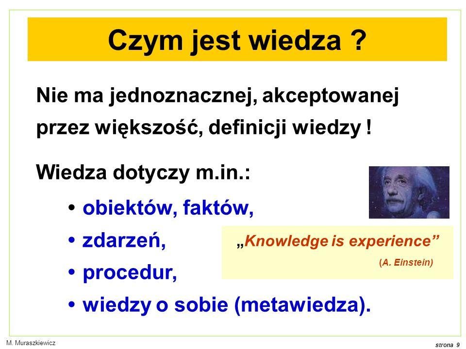 strona 20 M. Muraszkiewicz Reprezentacja ma znaczenie na papierze w komputerzetekst kod