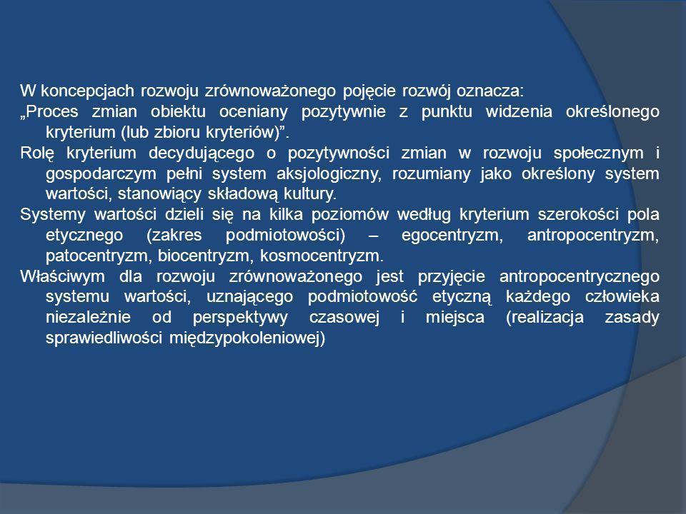2) Społeczne efekty rozwoju gospodarczego (tzw.
