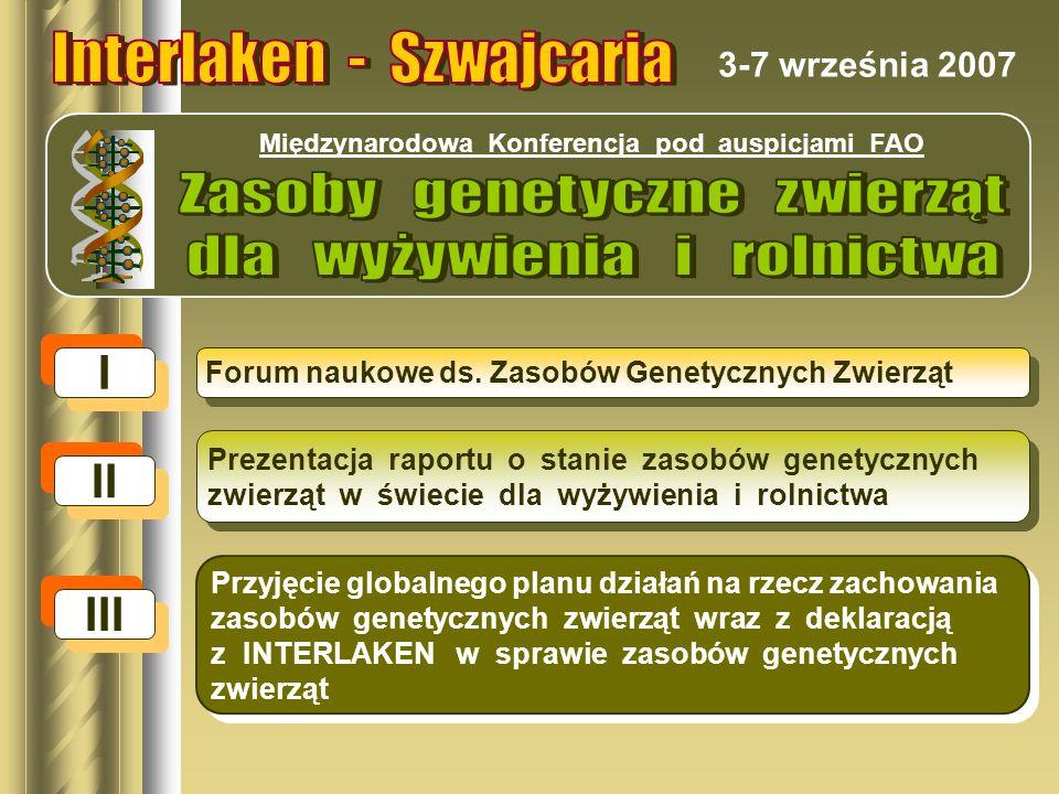 Polska jest jednym z prekursorów ochrony zasobów genetycznych zwierząt gospodarskich W ramach koordynacji Instytutu Zootechniki PIB realizowane są programy ochrony zasobów genetycznych zwierząt gospodar- skich obejmujące łącznie 87 populacji, w tym 38 należących do ssaków, 34 ptaków, 10 ryb i 4 pszczół, a hodowcy otrzymują z tego tytułu dopłaty.