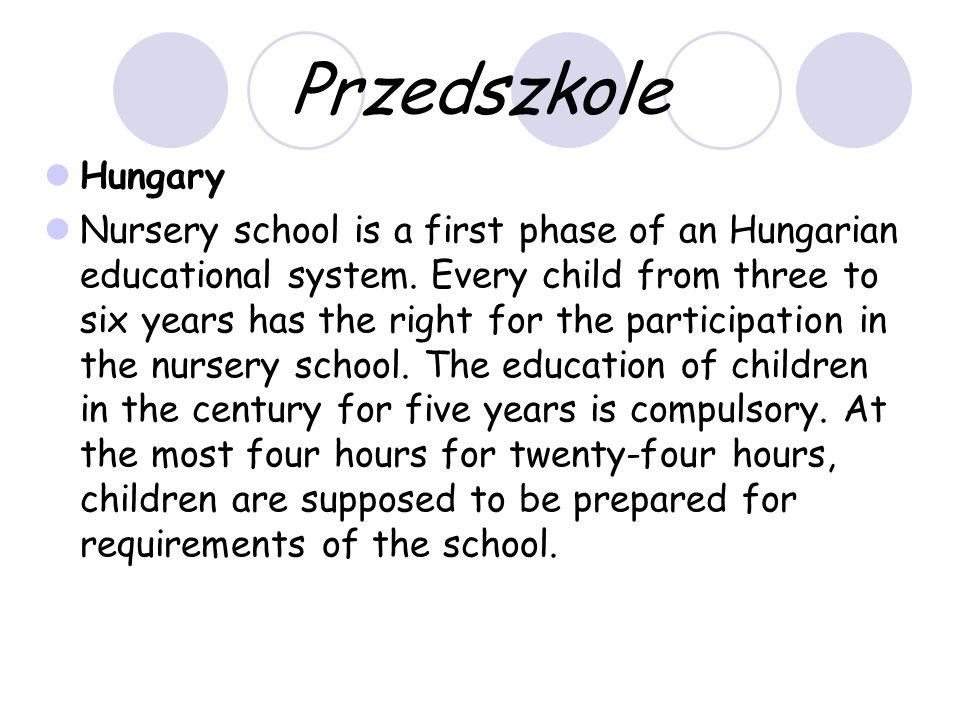 Szkoły ponadgimnazjalne - Węgry Po ośmiolatce następuje czteroletnia szkoła średnia.
