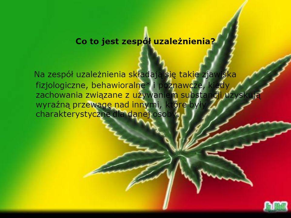 Kontakty z narkotykami