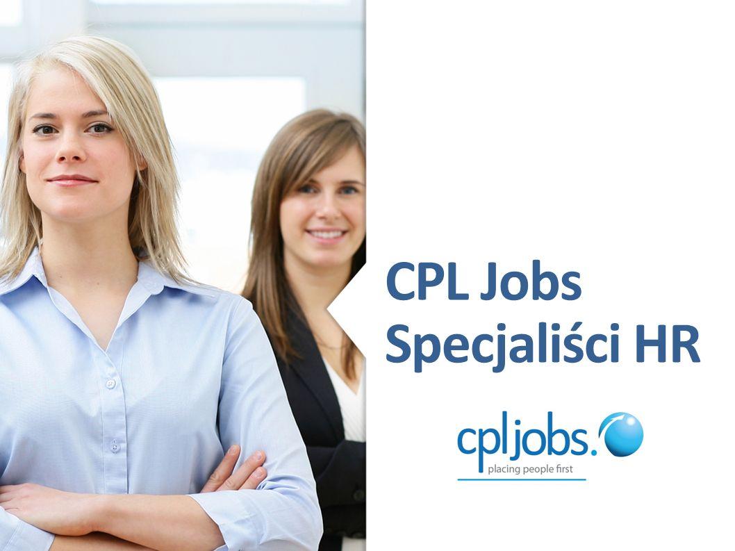 CPL Jobs Specjaliści HR