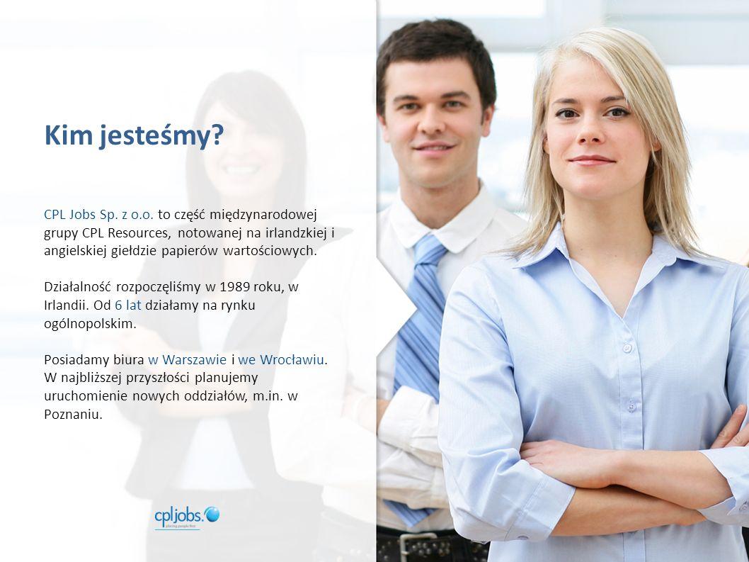 Kim jesteśmy. CPL Jobs Sp. z o.o.